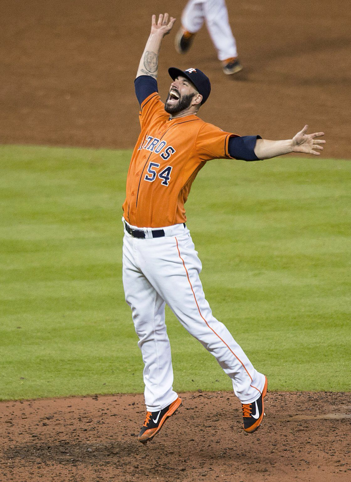 Mike Fiers 2015 Nohitter Astros baseball, Houston