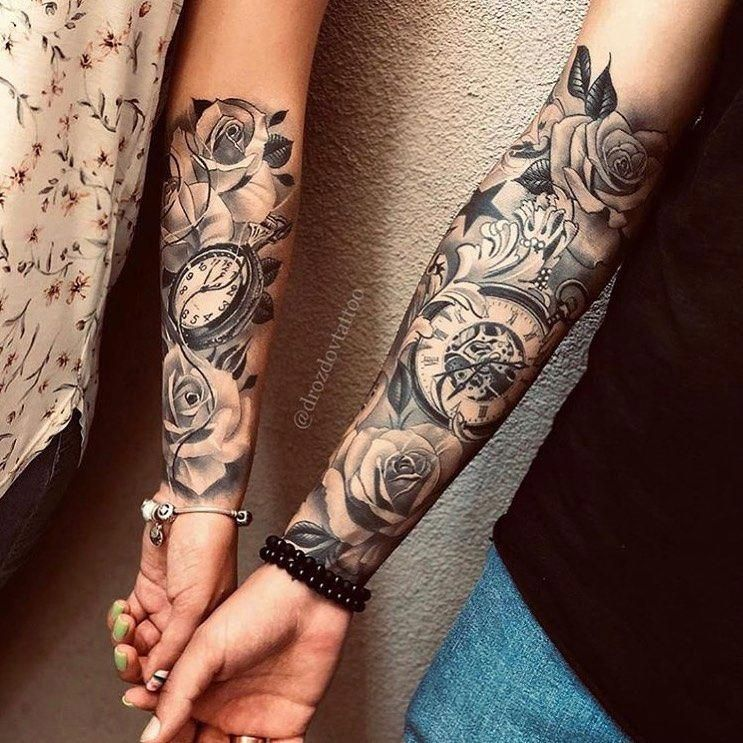 Unique Half Sleeve Tattoos Halfsleevetattoos In 2020 Forearm Tattoo Women Unique Half Sleeve Tattoos Sleeve Tattoos For Women