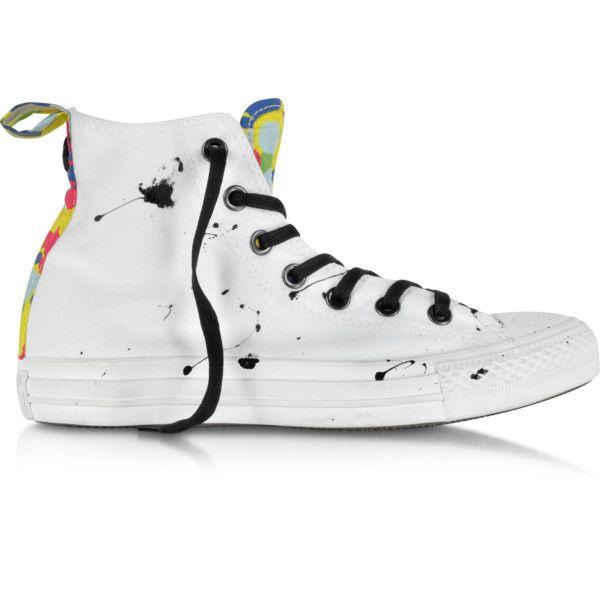 Converse Limited Edition Shoes CT All Star Hi Camo Black Splash Canvas... ( 54017cba76ae1