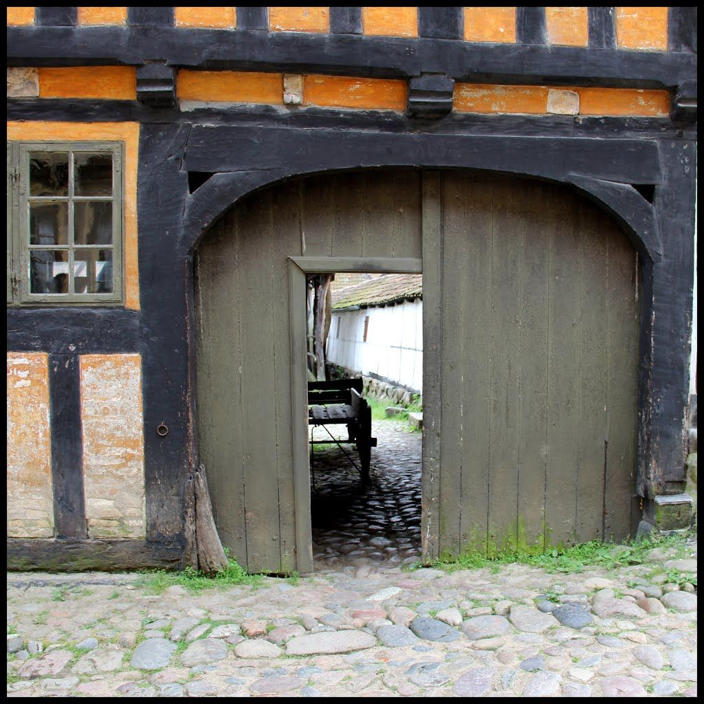 Den Gamle By The Old Town Aarhus Danmark Billeder