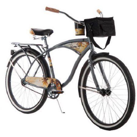 "26"" Huffy Mens' Panama Jack Cruiser Bike, Grey. Gender Men. Manufacturer Part Number 56527P7."