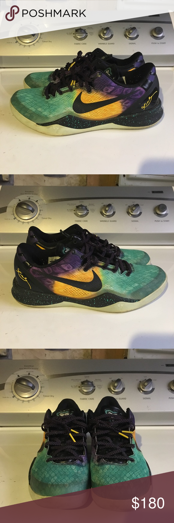 Nike Kobe VIII 8 System Easter Used pair of Easter Kobe 8s in a size ... 3565b8bb4
