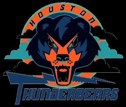 Houston Thunderbears 1996 2001 Arena Football League Houston