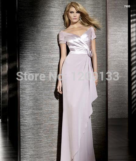 ee079ff5502 Купить товар Vestidos феста Vestido лонго вечернее платье сексуальный с v  образным вырезом короткий рукав со