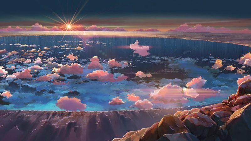 Desktop wallpaper anime scenery