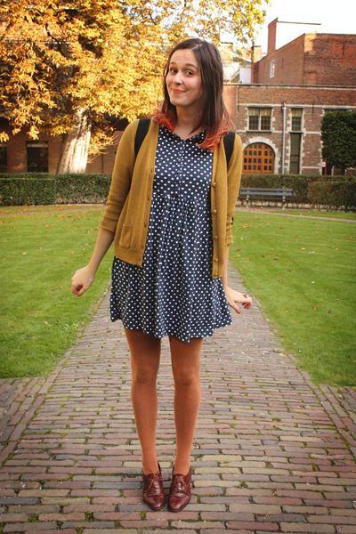 I got auburn tights too. I NEEEEEEEDDD a navy blue dress. | Get in ...