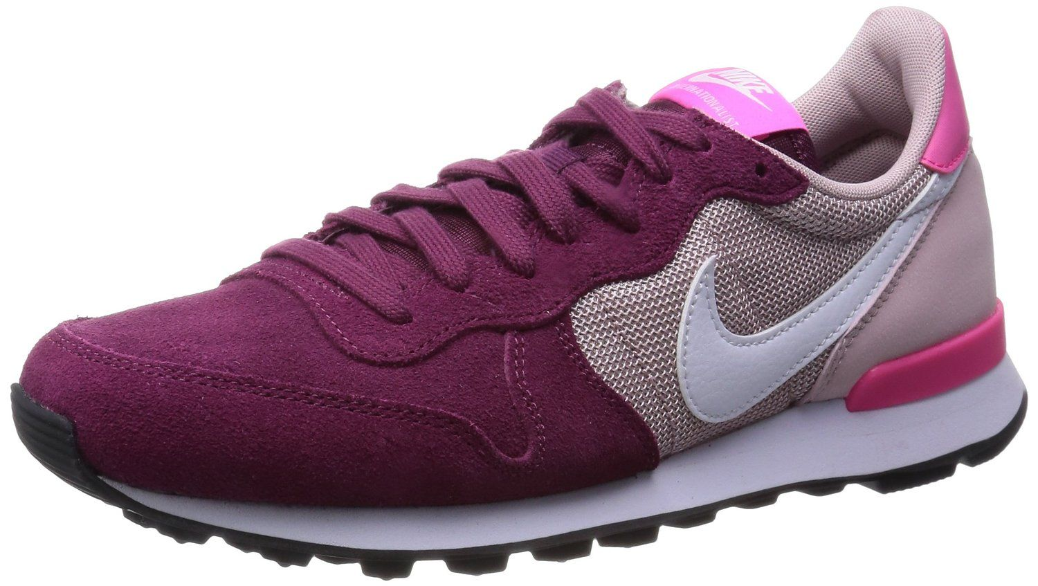 servidor Berri Masaccio  Zapatillas Nike Internationalist Burdeos 39 Granate: Amazon.es: Zapatos y  complementos | Zapatillas nike, Nike mujer, Nike