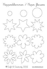 paperflowers printable