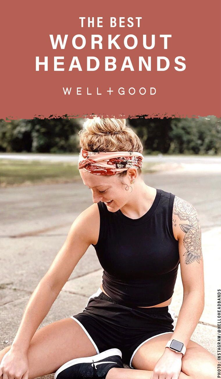 These Workout To Work Headbands Mean You Ll Never Have To Wash Your Hair In A Locker Room Again Workout Headband Fun Workouts Headband Hairstyles