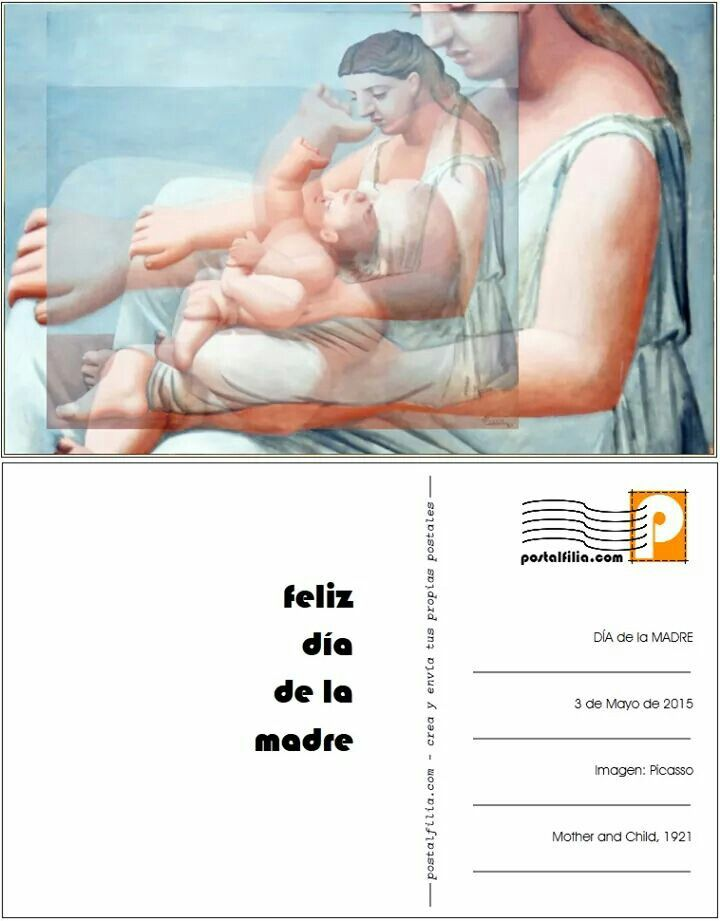 Picssso, Mother and child