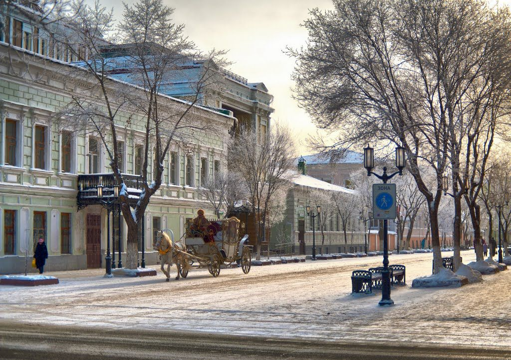Картинки с видами оренбурга