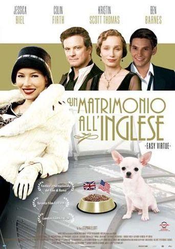 Poster ¥ Matrimonio Inglese_F