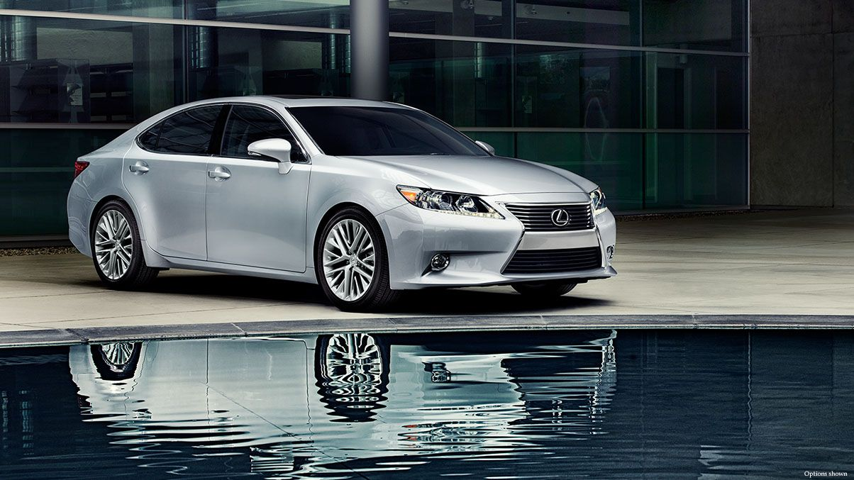 Es 350 Shown In Silver Lining Metallic Www Newportlexus Com Lexus Es Lexus Models New Lexus