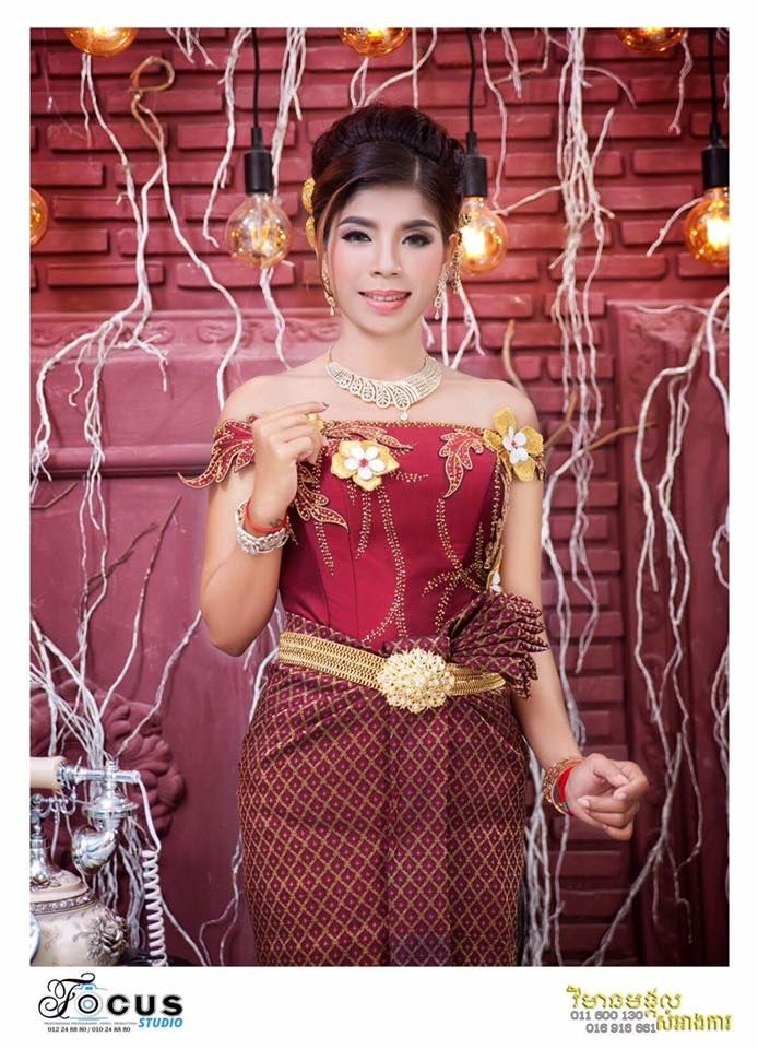 khmer wedding costume | Khmer Dress | Pinterest