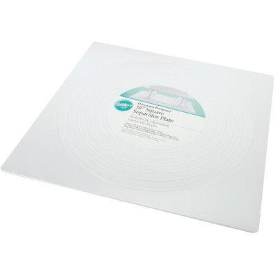Wilton Smooth Square Separator Plate