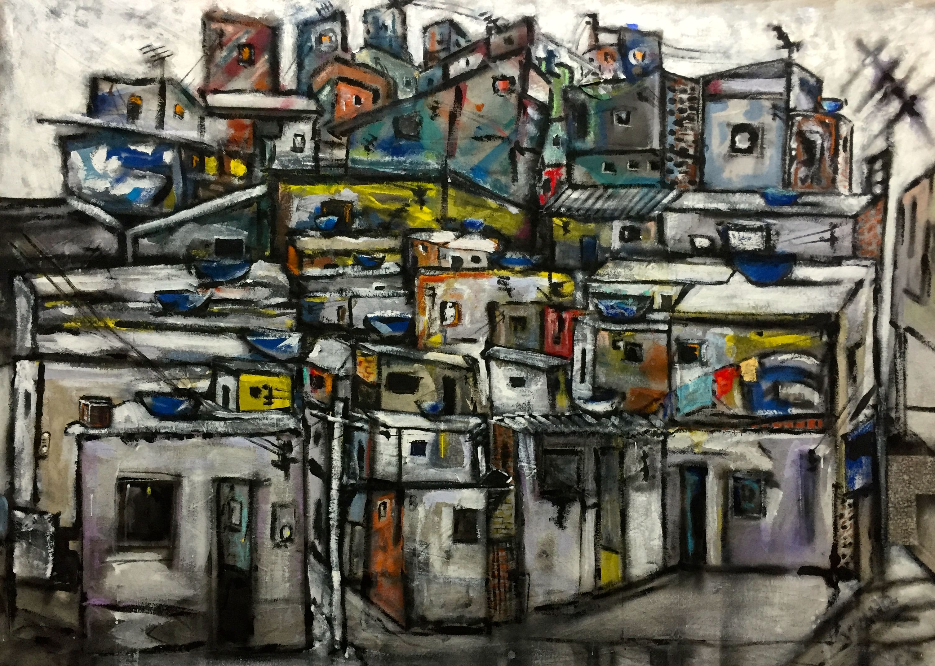 Favelas., 2015 by- Tony Paraná