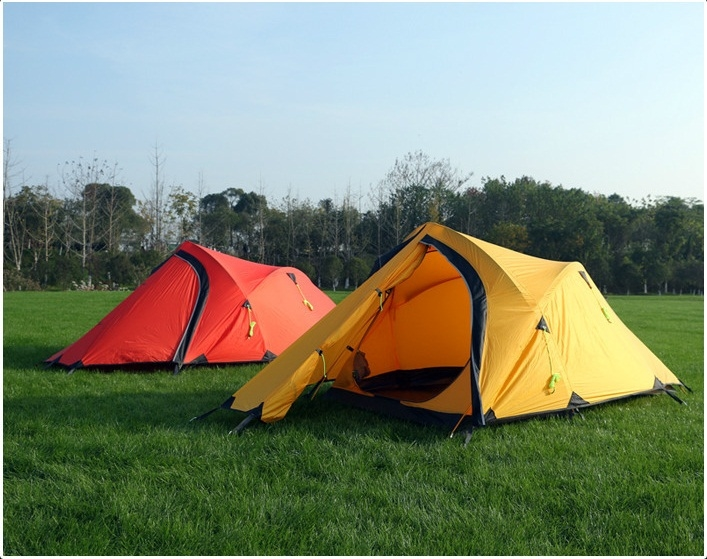 102.64$  Buy here - http://aliriq.worldwells.pw/go.php?t=32671152773 - 4 season high altitude tents low tempture camping tent winter tents 20D nylon 2-3 persons tent ultralight tents for outdoor