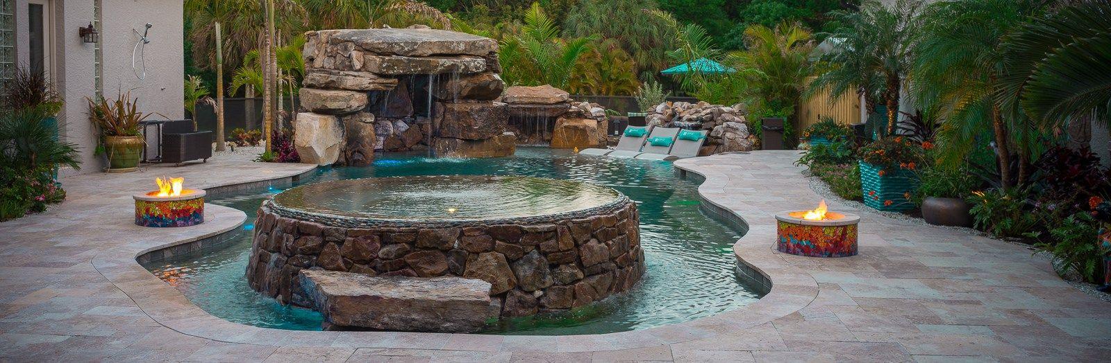 Fiesta De Laguna Lucas Lagoons Insane Pools Pool Houses Pool Hot Tub