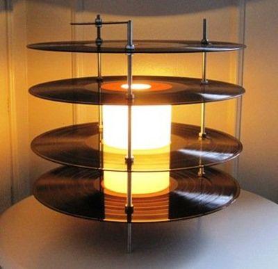 Dude Craft: Vinyl Record Lamps