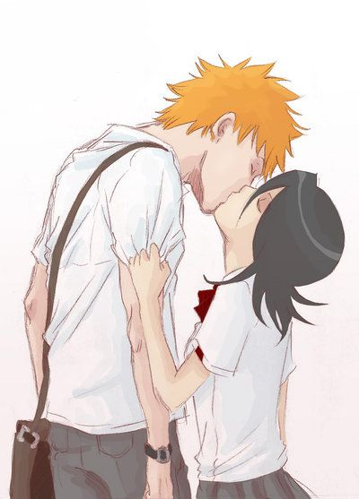 ichigo and rukia kiss - photo #37
