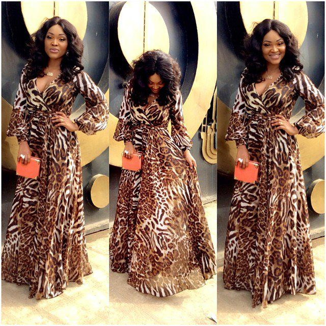 Mercy Aigbe In Animal Prints Get Dressed In 2019 Pinterest
