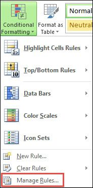 Use Conditional Formatting To Highlight Information Job Hunting Data Bar Excel
