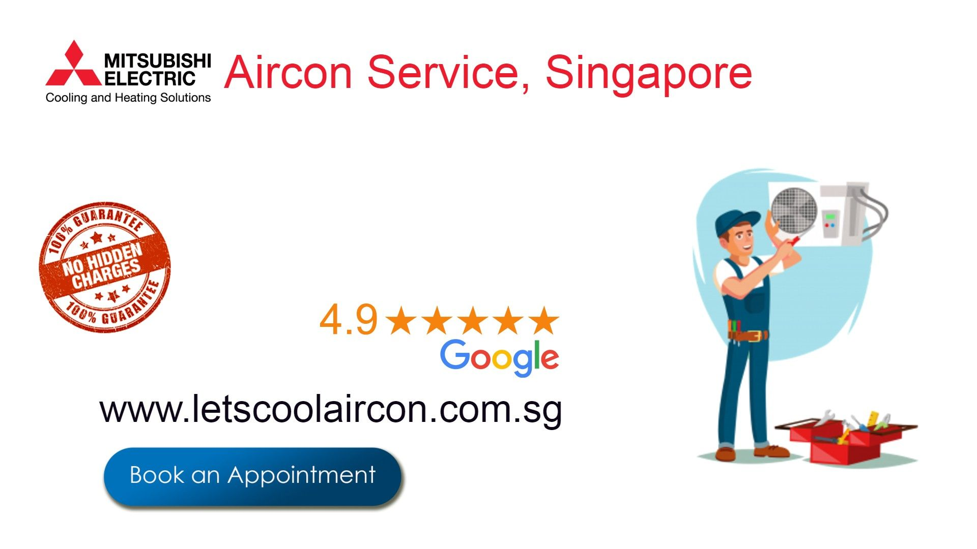 Mitsubishi Aircon service in singapore, in Affordable