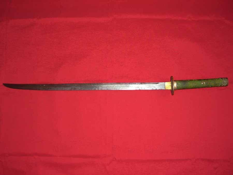 Korean sword. Joseon period.