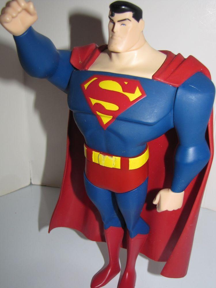 2PCS DC Super Action Figure Justice League Batman v Superman Hero Toy Collection