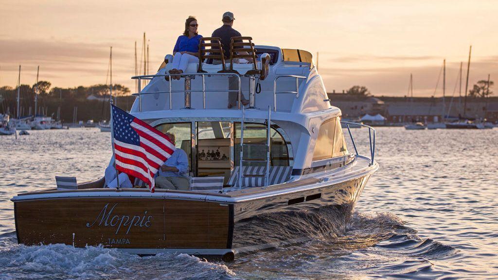 A Classic Is Reborn In The New Bertram 35 Classic Boats