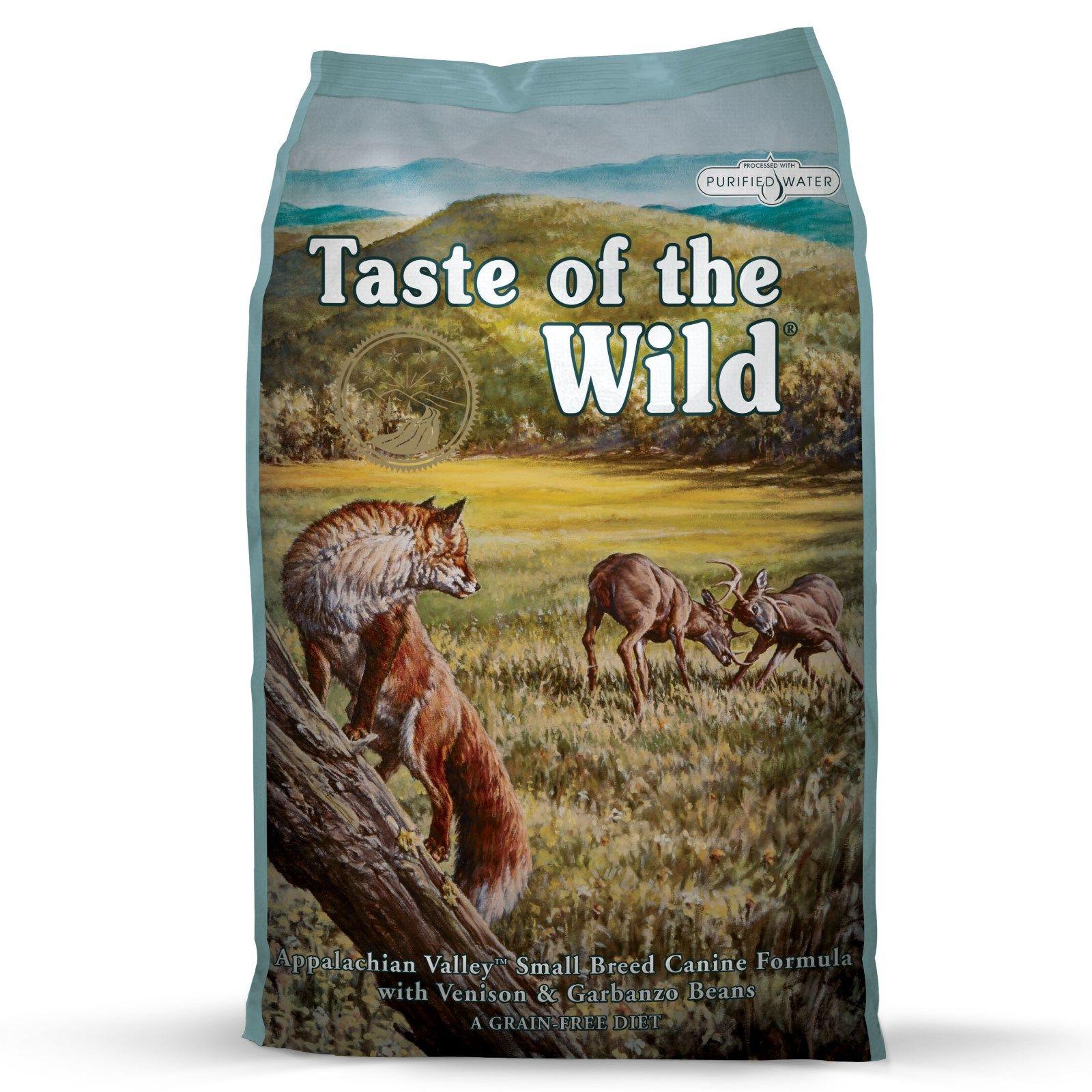 Taste of the wild appalacian valley small breed dry dog