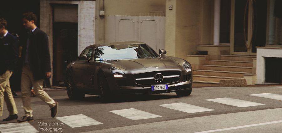 Mercedes SLS by Onish: SLS TIME