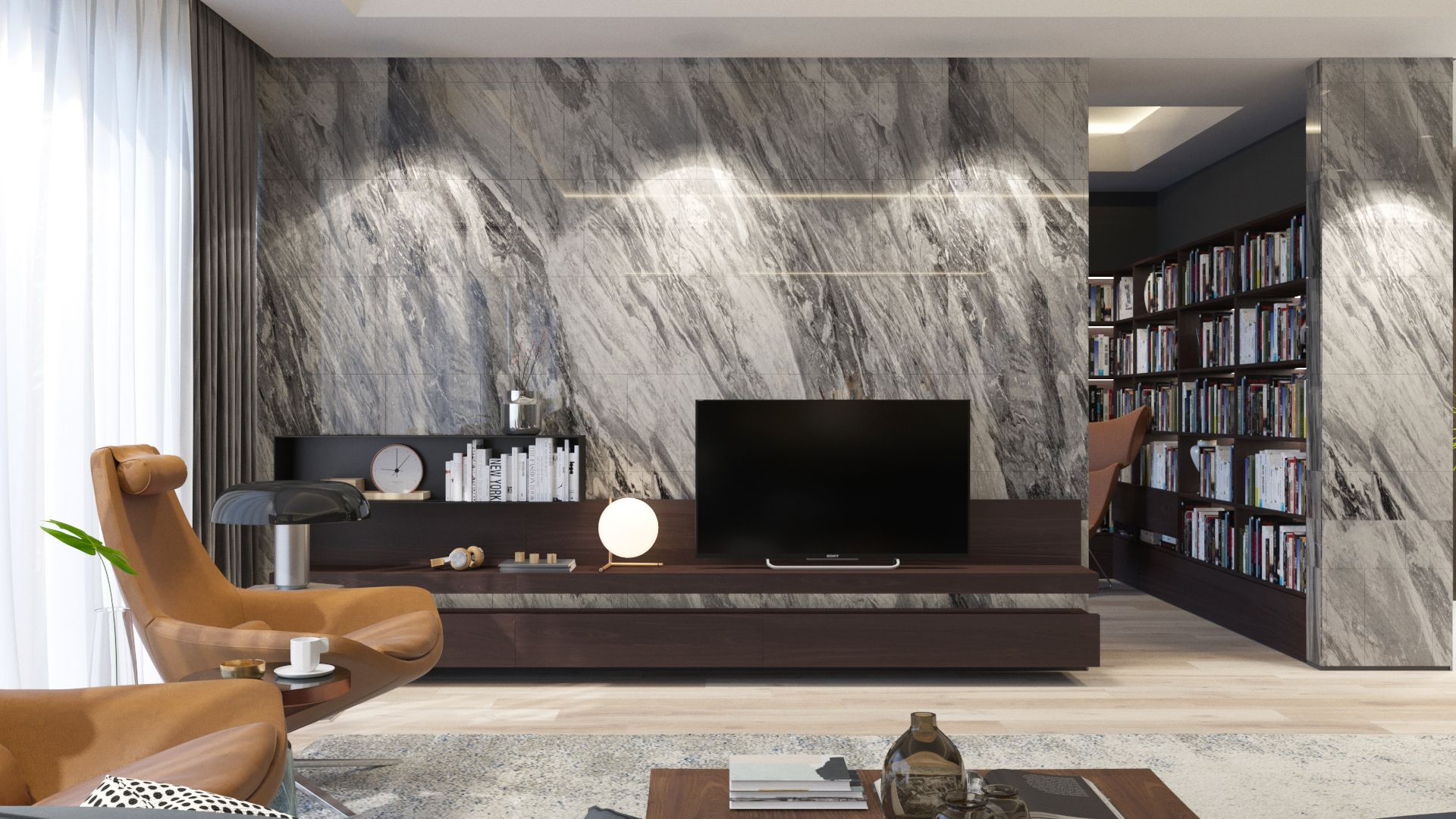 Penthouse In Nairobi On Behance Nairobi Interior Design Living