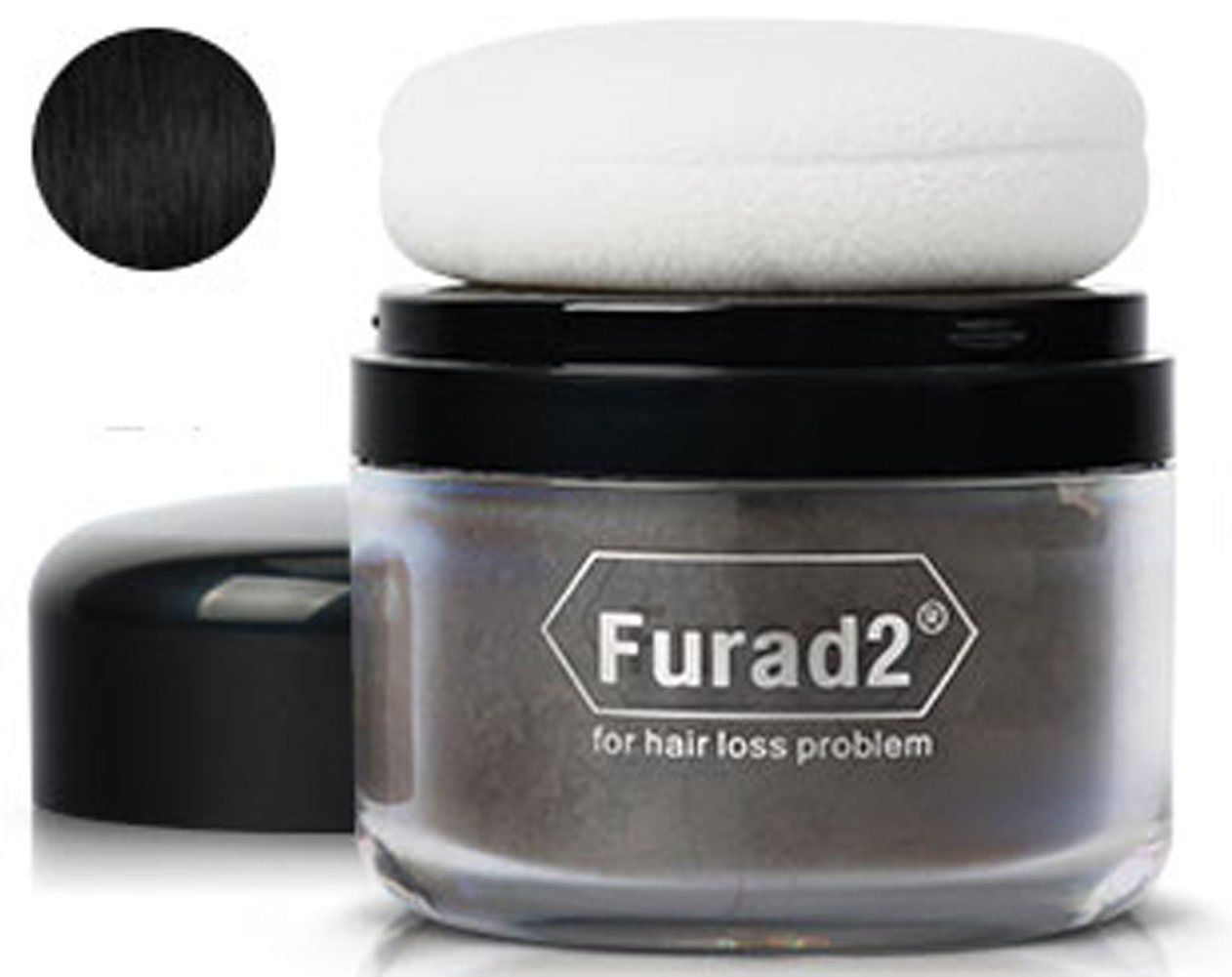 furad2 interal wide hair powder hair building fibers thinning hair