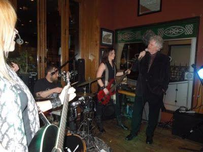 John McDermott with Fiddlestix at P.J O'Brien Irish Pub in Toronto, ON Canada, photo credit by a blog online called Teena in Toronto.
