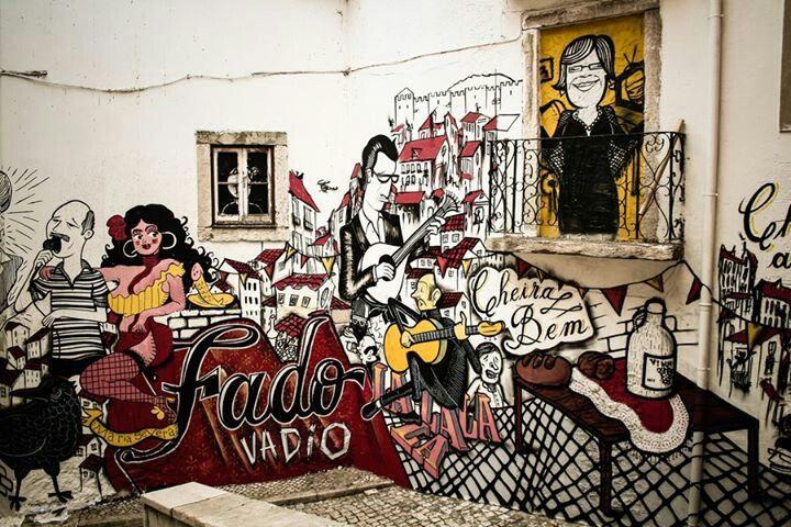 Listening Fado in Alfama , Lisbon , PORTUGAL