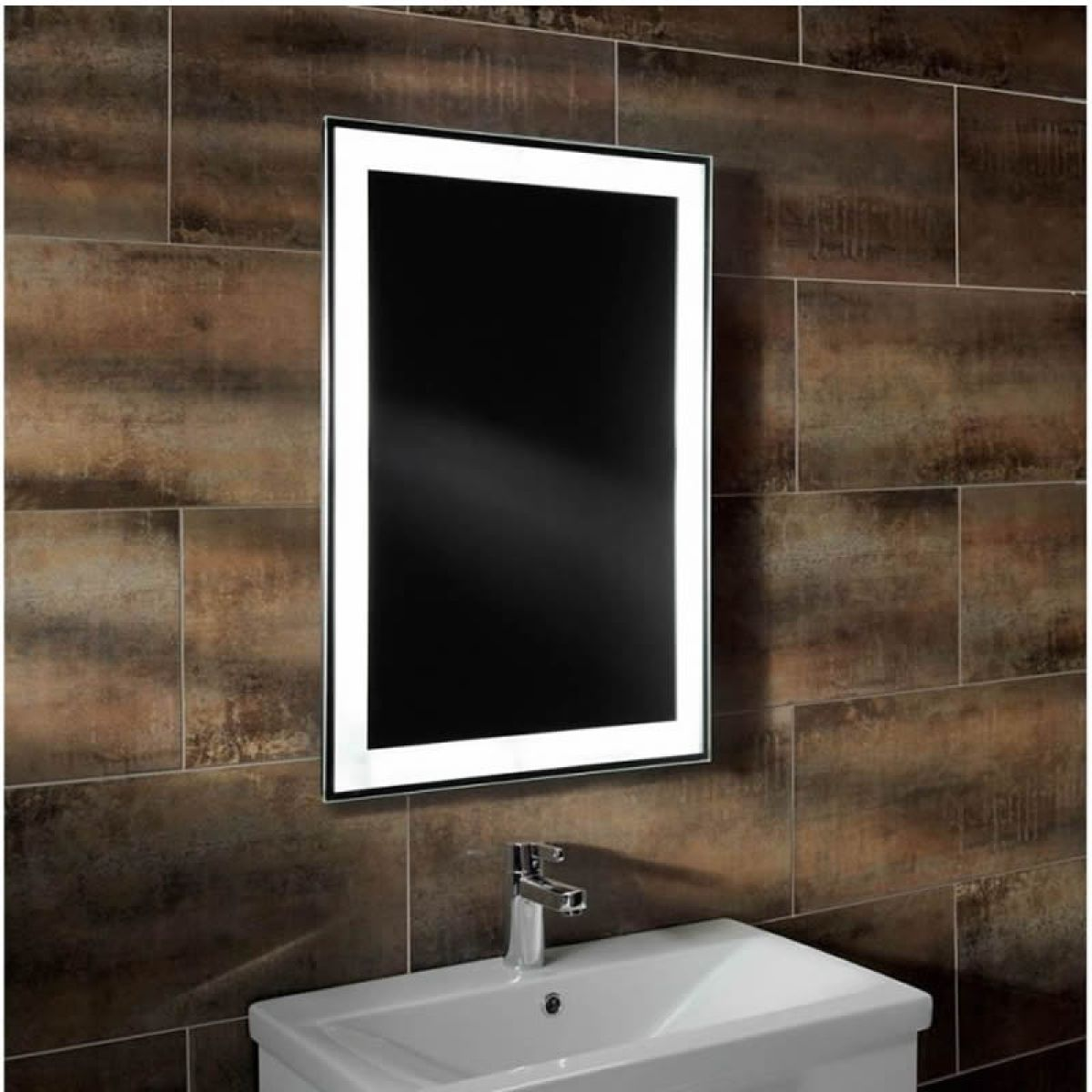 Mirror Bathroom Ideas Pinterest Roper rhodes Backlit mirror