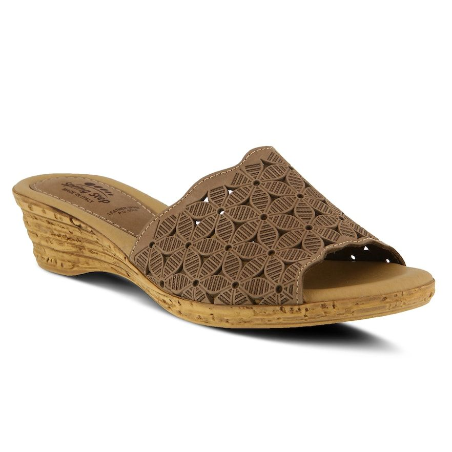 Womens sandals, Spring step shoes