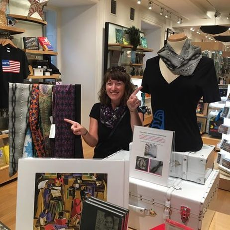 The Smithsonian: I couldn't be more excited to have my textile designs featured at this iconic institution #scarves #shopscarves #infinityscarf #fashion #textiles #shoponline
