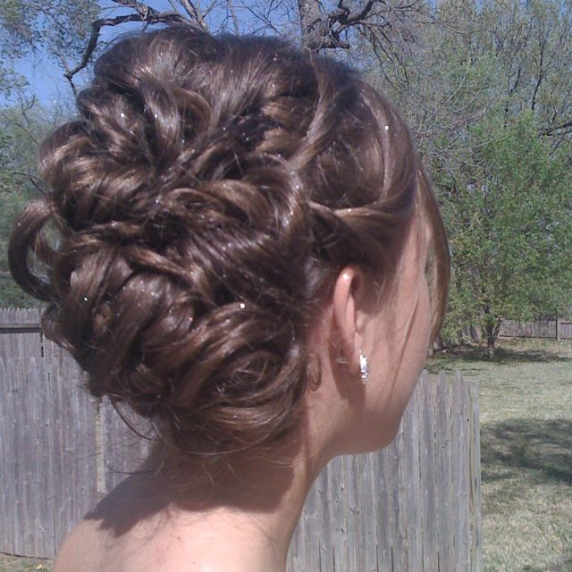My junior prom hairstyle <3 | I thought of you when I saw this ...