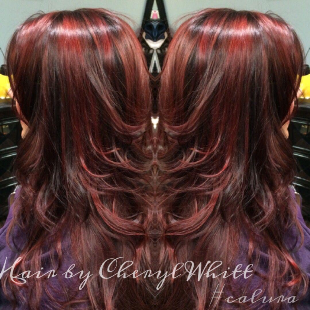 Nothing But Beautiful Calura Color Oligopro Hair Hairbycheryl Queenc Cherylwhitt Love All The Shine And Depth
