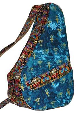 Kidney Shaped Ergonomic Shoulder Bag Pattern