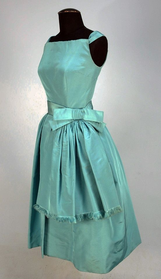1950's Christian Dior cocktail dress | 1950 年代のヴィンテージ ...