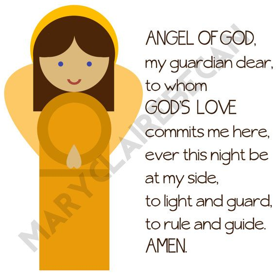 photograph regarding Guardian Angel Prayer Printable known as Pin by means of Annmarie Byrnes upon catholic crafts Prayers, Angel