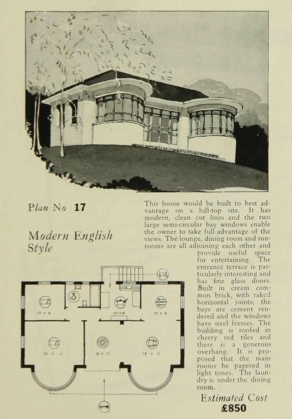 pin by artdeco resource on art deco resource in 2019 pinterest house plans vintage house. Black Bedroom Furniture Sets. Home Design Ideas