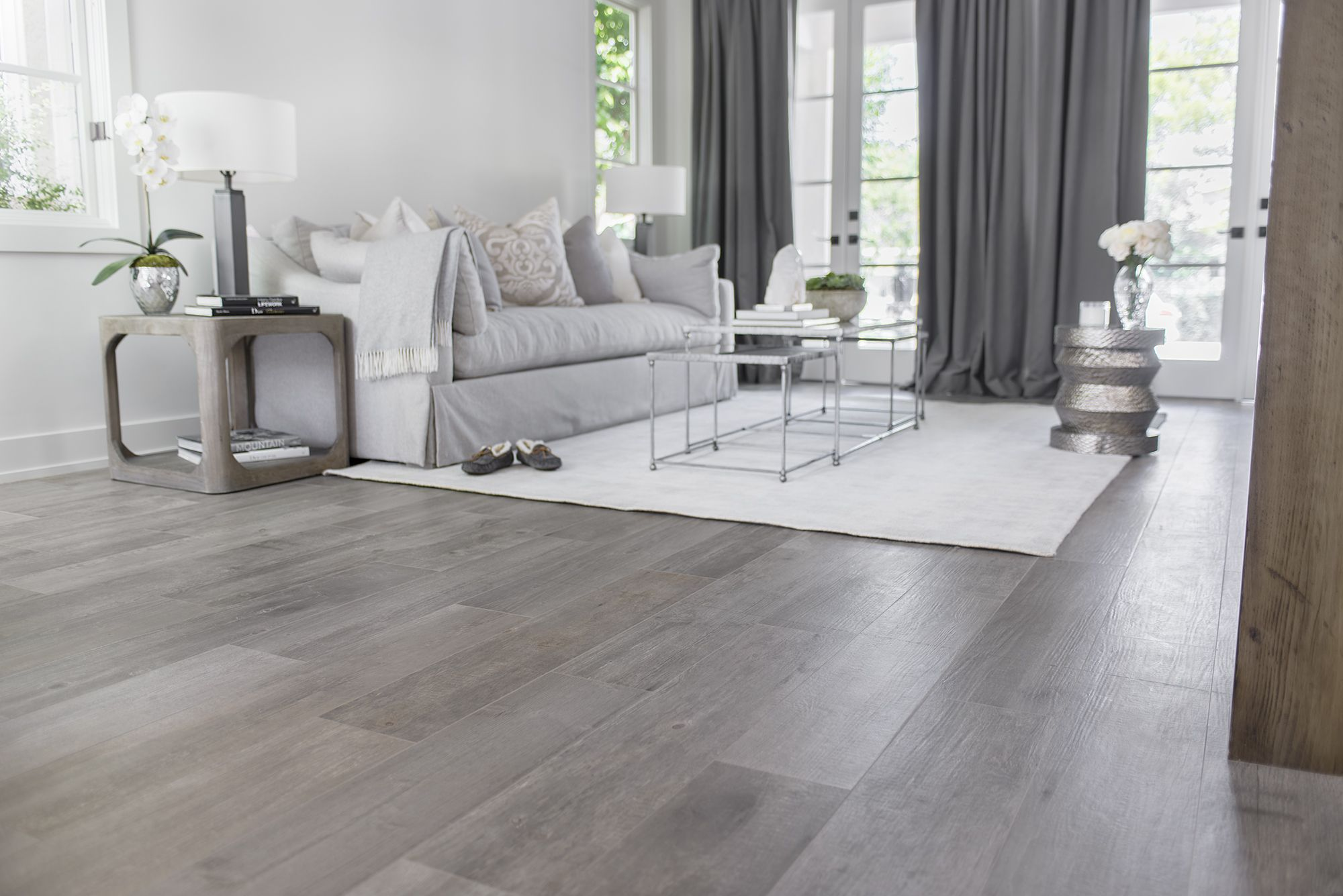 Combine The Beautiful Warmth Of Natural Wood And Easy Maintenance With The Porcelain Tahoe Collection Living Room Tiles House Flooring Timber Tiles