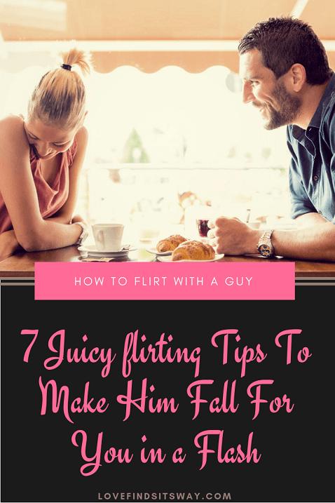 Wie flirt ich mit einem mann
