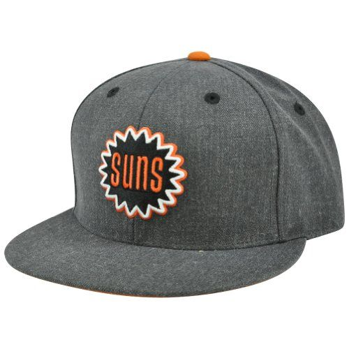 bf32f0f847e676 NBA Mitchell & Ness Heather Wool Phoenix Suns Fitted Hat, Price: $19.95 -  You Save: $12.05 (37%)