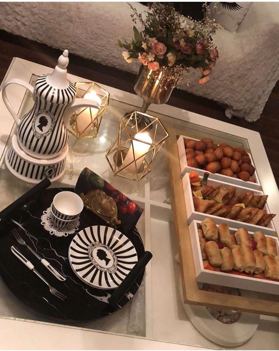 Ramadan Decorating Coffee Tables Buffet Food Food Decoration