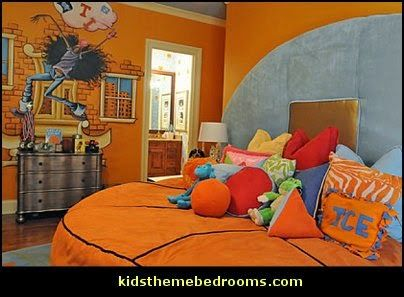 Basketball Theme Bedroom Decorating Ideas All Sports Bedrooms Sports Themed